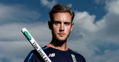 Stuart Broad Biography